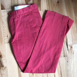 Men's polo salmon dress pants